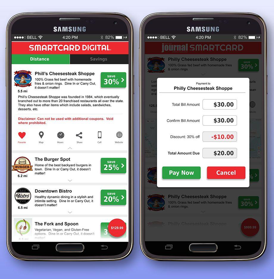 SmartCard App & Backend